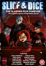 DVD:SLICE AND DICE - THE SLASHER FILM FOREVER - NEW Region 2 UK