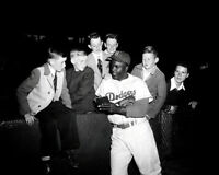 Jackie Robinson #12 Photo 8X10 - Brooklyn Dodgers  Buy Any 2 Get 1 FREE