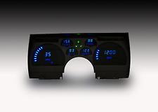 ¡91-92 panel digital de la rociada de Camaro en LEDs azules brillantes!!!!!