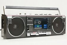 Toshiba RT-SF5 Working Vintage Cassette Player Radio FM Stereo Boombox Mini Nice