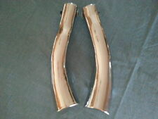 HONDA V65 MAGNA MUFFLER SHIELD SET- UNBELIEVABLY BEAUTIFUL DISCONTINUED SET
