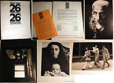1970 SOHO GALLERY PHOTOGRAPHERS SHOW 26 PHOTOGRAPHS PORTFOLIO
