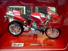 Maisto Ducati MH 900 E 1:18 rood (S)