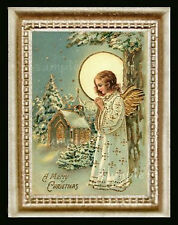 Christmas Angel Miniature Dollhouse Doll House Picture