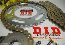 HYOSUNG GT250 GT250R '04/12 DID Gold X-Ring CHAIN AND SPROCKETS KIT *Premium Kit