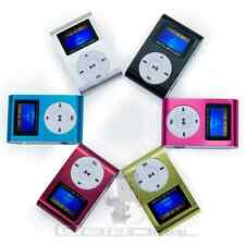 Reproductor Lector MP3 Player Clip USB LCD Screen Micro SD SDHC hasta 32GB 16 GB