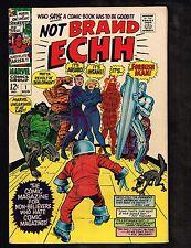 "Not Brand Echh #1 ~ ""The Silver Burper!"" / Fantastical Four ~ 1967 (5.0) WH"