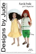 """Fun & Frolic Doll Clothes Sewing Pattern for 14"""" Kish"""