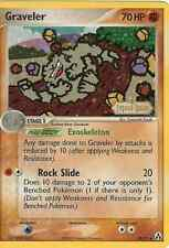 POKEMON EX LEGEND MAKER - GRAVELER 34/92 REV HOLO