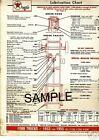 1936 1937 1938-1940 INTERNATIONAL TRUCKS LUBE LUBRICATION CHARTS T