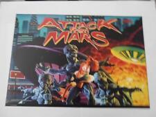 Attack From Mars Pinball Translite Mr Pinball Sales, Importer & Print Master
