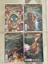 Age Of Ultron Vs Marvel Zombies #1 2 3 4 1St Print Set Nm Battle World Swa