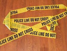 POLICE LINE DO NOT CROSS TAPE - 3 INCH 50 FEET - CRIME SCENE CSI FBI POLICE TAPE