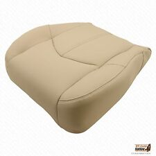 "Driver Bottom ""Synthetic Leather"" Tan Seat Cover For 1999 2000 2001 Lexus RX300"