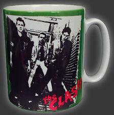 THE CLASH LONDON CALLING BURNING COFFEE TEA MUG CUP JOE STRUMMER PUNK ROCK 1977