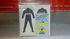 1:20 DECAL - Lotus  Senna Figure     - 3L050