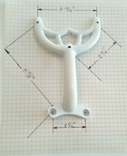 """52"""" White Ceiling Fan Blade Arm Replacement for Hunter and Hamton Bay Fans. NEW"""