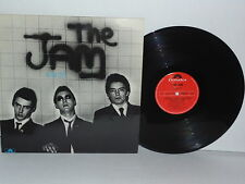 THE JAM In The City LP Vinyl UK 1977 Paul Weller Mod Punk Batman Theme Slow Down