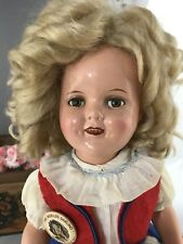 "16"" Composition Ideal Shirley Temple Make Up Doll!"