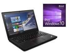 #3JahreGEWL* IBM/Lenovo ThinkPad X260 I5-6300U 4GB 480 SSD HDTV Cam Win10 Pro