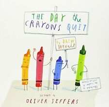 New The Day The Crayons Quit By Drew Daywalt, Oliver Jeffers CLEARANCE STOCK