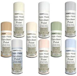 Chalk Finish Furniture Spray Paint Smooth Touch Matt Finish 400ml