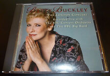 """BETTY BUCKLEY """"The London Concert"""" CD 1995 BBC Big Band 15-Tracks EXCELLENT OOP"""