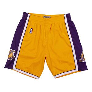 Mitchell & Ness Gold/Purple NBA Los Angeles Lakers 2009-10 Swingman Shorts