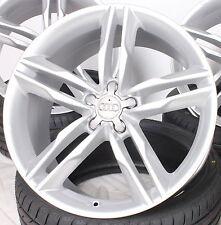 18 Zoll Alufelgen für Audi A6 4G 4G1 Avant 4F 4F1 TT 8J s line Design RS silber