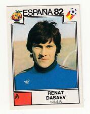 PANINI FIFA 1982 RENAT DASAEV UNUSED SOCCER STICKER URSS TEAM MINT !!