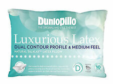 Dunlopillo Luxurious Latex Dual Contour Profile & Medium Feel