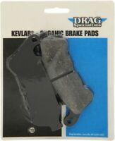 Drag Specialties 1720-0206 Organic Made with DuPont™ Kevlar® Brake Pads R11.BX4