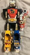 Voltron WEP 1984: Black, Red, Blue, Yellow