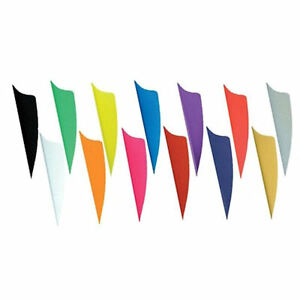 "BOHNING ARCHERY X-VANES 1.75"" Length, Dozen in Various Colours!!!!"