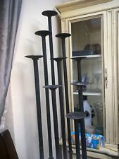 iron candle holder stand
