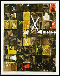 """DDR-Kunst """"Oktoberwind"""", 1989 Grosses Multiple Rainer HENZE (*1952) handsigniert"""