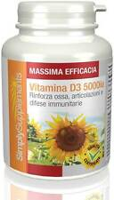 Vitamina D3 5000 iu 360 Compresse - E594