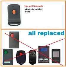 2 x Tiltamatic magickey Garage Remote TRG306 TR300 TRV300 TRG303 doormate