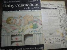 21178 Schnittmusterbogen Orth Erna Baby-Ausstattung Vobach 216 1930 52 Seiten