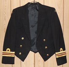 ROYAL AUSTRALIAN NAVY MESS JACKET LCDR LIEUTENANT COMMANDER SMALL TO MED SIZE