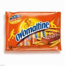 OVOMALTINE Chocolate Sports Bars 5x20g FAST ENERGY VITAMIN & MINERAL CONTENT