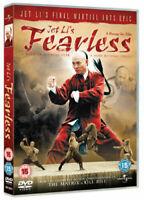 Fearless DVD (2006) Jet Li New