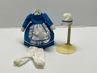 "Antique/Vintage Style 3 pc Vintage Style Doll Dress Fashion for 7"" to 9"" doll #2"