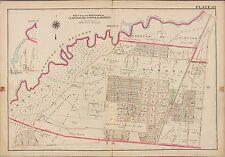 1913 G.W. BROMLEY, CLOSTER DELFORD HAWORTH, BERGEN COUNTY N.J. COPY ATLAS MAP