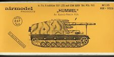 AIRMODEL PRODUCTS AM-1025 - s.Pz. HAUBITZE 18/1 (Sf) auf GW III/IV - 1/35 RESIN
