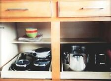 "20"" Inch pull out Shelf, Kitchen Cabinet, Roll out Organizer, Sliding Drawer"