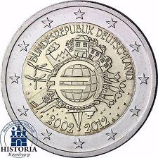 10 Jahre Bargeld 2 Euro Deutschland Gemeinschaftsausgabe 2012 Stempelglanz Mzz A