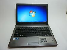 "Acer Aspire 4810TZ /14"" Laptop Intel Pentium SU4100 1.3GHz/ 2GB RAM /160GB HDD"