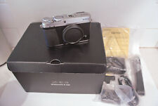 FUJIFILM X-E3 DIGITAL CAMERA SILVER BODY ONLY - 1616 Shutter Count - xe3 xe-3