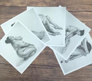 "PRINT COLLECTION - 5x5"" - Nude Set #1 (5 Prints)"
